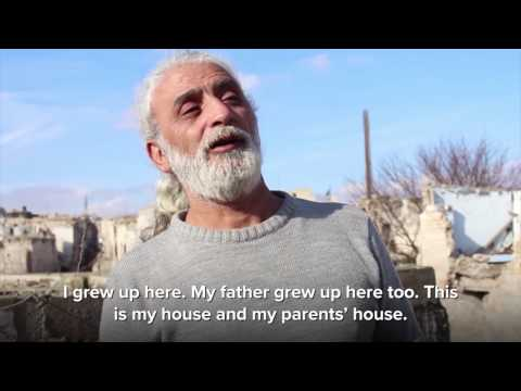 Syria: Displaced Syrians return to Aleppo's old city