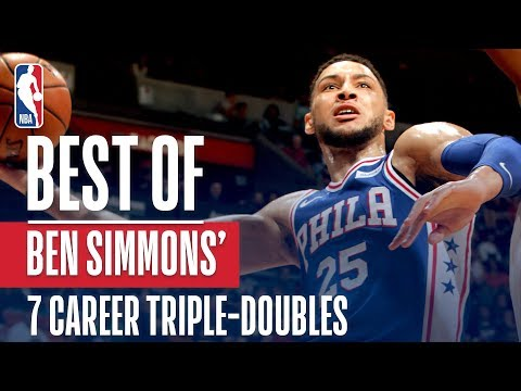 Best Buckets And Dimes From Ben Simmons 7 Career Triple Doubles!