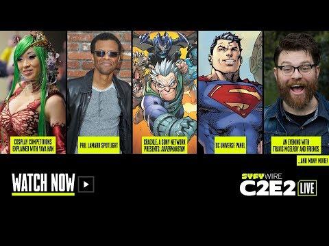 SuperMansion, Phil LaMarr, DC Comics | C2E2 Panel Rm 2 (Day 1) | SYFY WIRE