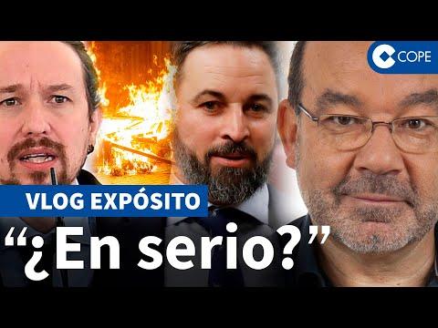 Expósito responde a Podemos sobre que «es Vox quien incendia las calles»