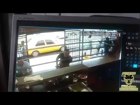 Robber Targets Guard for His Pistol | Active Self Protection