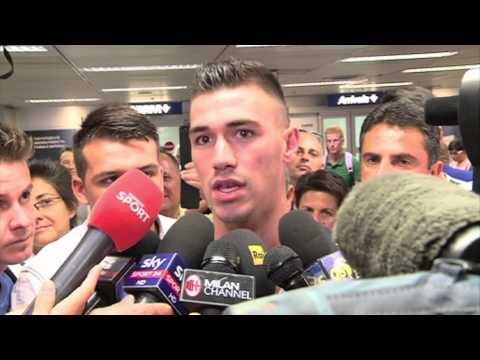 """Romagnoli: """"AC Milan is the best club in the…"""