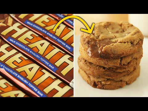 How To Make Candy Bar Cookies ? Tasty