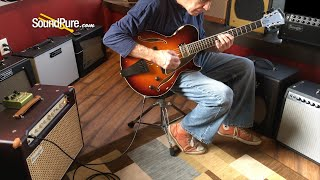 Collings Eastside Jazz LC Deluxe Tobacco Sunburst - Quick 'n' Dirty