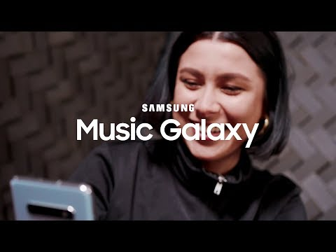 Interview med Ericka Jane – Samsung Music Galaxy
