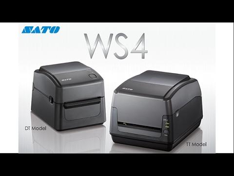 SATO WS4, Impresora de Escritorio