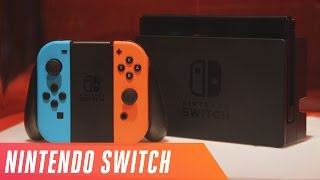 Nintendo Switch first look