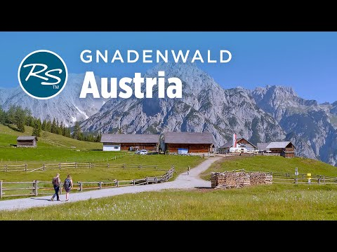 Gnadenwald, Austria: The Walderalm Farm