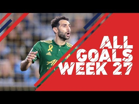 Valeri nets in 7th straight | All Goals, Week 27