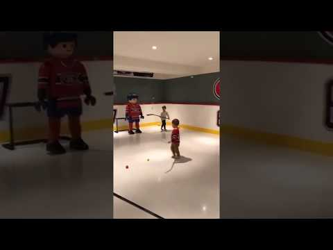 The Pacioretty Family Plays Hockey With Playmobil Figure