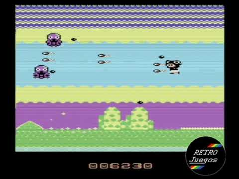 RETROJuegos Homebrew - Keikos Adventure Hardcore © 2020 The Reaper UK - Commodore 64