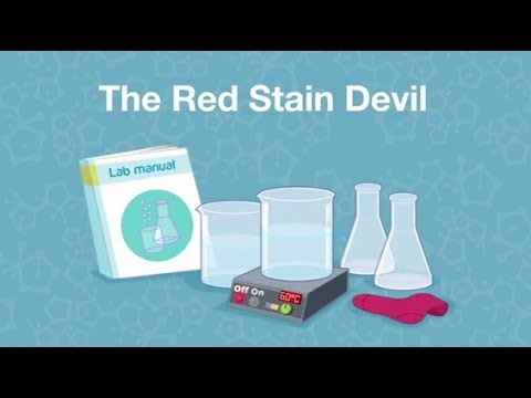 """Virtual Kids' Lab – """"The Red Stain Devil"""""""