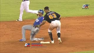 Resumen Tigres del Licey vs Águilas Cibaeñas | 22 DIC 2019 | Serie Semifinal Lidom