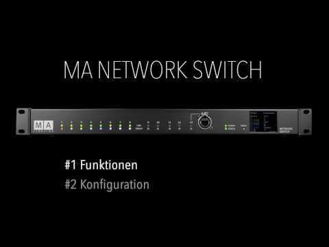MA Network Switch Tutorial - Deutsch