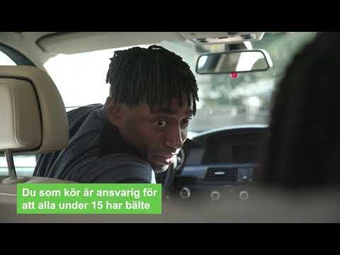 Lätt svenska, film 4. Använd bilbälte