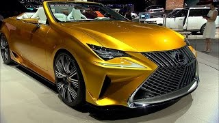 Lexus rolls back the roof of the RC coupe