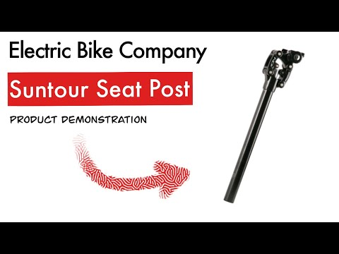 Suntour Seat Suspension - Product Demonstration