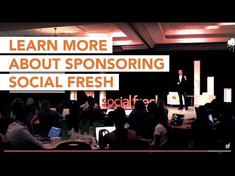 Sponsor Social Fresh