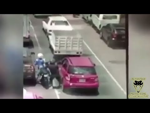 Carjacking Goes Horribly For Carjackers | Active Self Protection