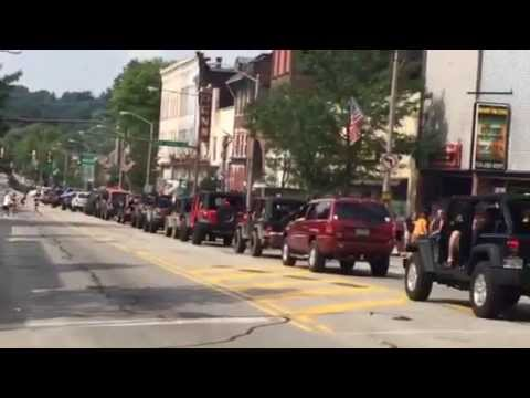 2015 Bantam Jeep Heritage Festival Parade