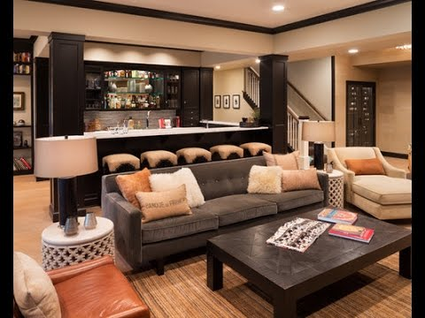 20 Most Stylish Basement Bar Ideas