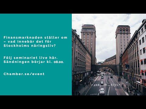 Finansmarknaden ställer om – vad innebär det för Stockholms näringsliv?