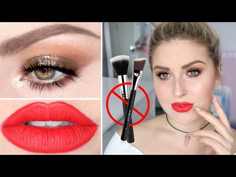 FULL FACE USING FINGERS (No Brushes) Challenge ? Shaaanxo