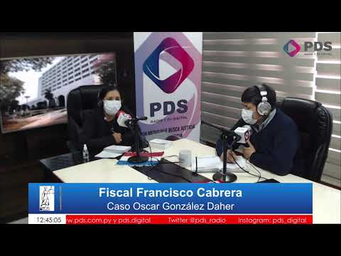 Entrevista- Fiscal Francisco Cabrera
