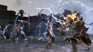 Let's Play Elder Scrolls Online: Fighting the First Boss!
