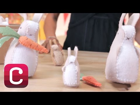Hand Sew Springtime Bunny and Carrot Softies with Alison Kaplan | Creativebug