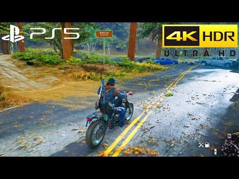 Days Gone PS5 HDR 4K 60FPS Gameplay (PS5 Optimized) Pt.3