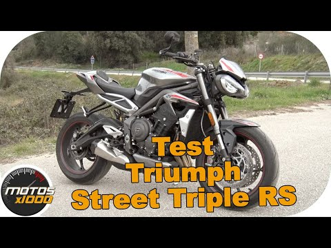 Test Triumph Street Triple RS | Motosx1000