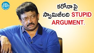 Ram Gopal Varma (RGV) About Present Situation | Dil Se with Anjali | iDream Telugu Movies - IDREAMMOVIES