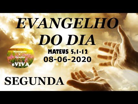 EVANGELHO DO DIA 08/06/2020 Narrado e Comentado - LITURGIA DIÁRIA - HOMILIA DIARIA HOJE