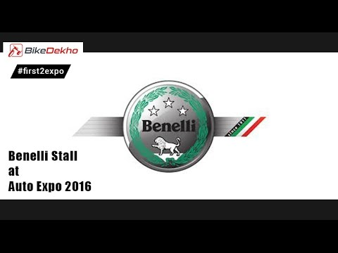 Beneli Stall @ Auto Expo 2016 | BikeDekho.com