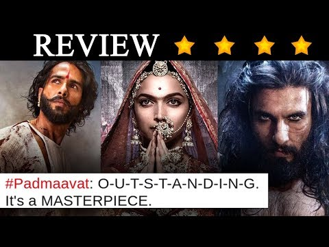 Padmaavat Review : Twitter Reacts On Deepika, Ranveer And Shahid's Performance