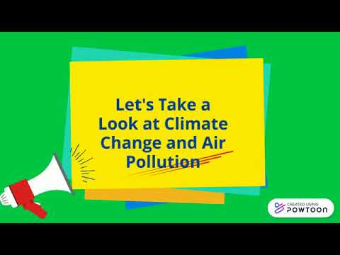 Climate Change & Air Pollution - Capstone II Course - UDC