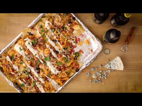 Party Recipes - How to Make Kickin' Buffalo Chicken Nachos