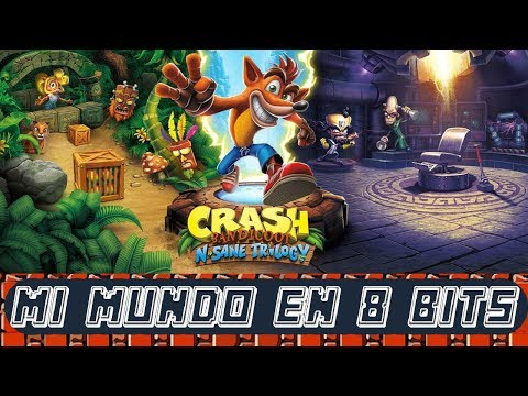 CRASH BANDICOOT N'SANE TRILOGY - PC STEAM GAMEPLAY ESPAÑOL