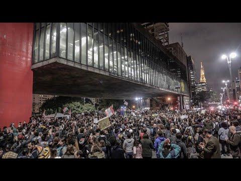 #AoVivo de São Paulo com as ruas lotadas em defesa da Amazônia e do Meio Ambiente.