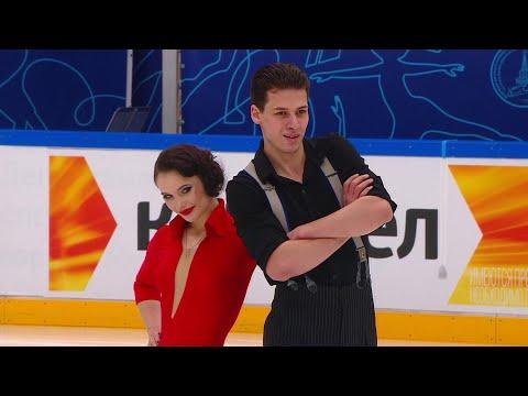 Аннабель Морозова - Андрей Багин. Ритм-танец. Танцы на льду. Финал Кубка России по фигурному катанию