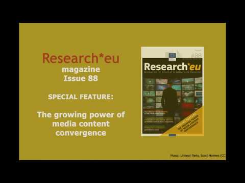 Research*eu issue 88: The growing power of media content convergence photo