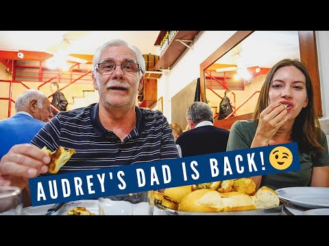 Dinner at Our Favourite Argentine Steakhouse in Buenos Aires | Audrey's DAD IS BACK in Argentina!