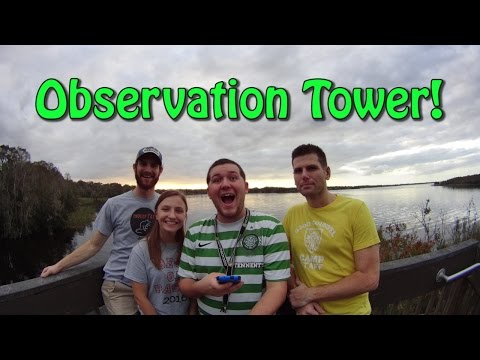 Geocaching to an Observation Tower