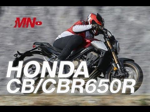 Prueba Honda CB650R/CBR650R 2019 [FULLHD]
