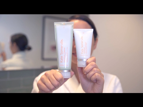 SOFTEN, CLEANSE & GLOW with ExfoliKate & ExfoliKate Cleanser by Kate Somerville