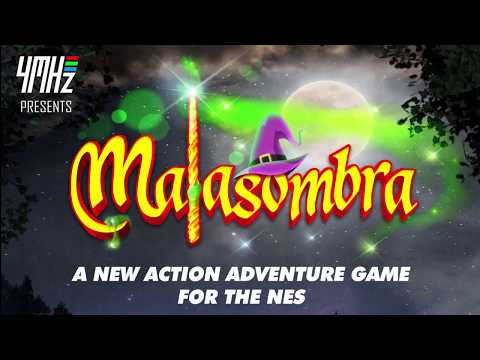MALASOMBRA NES GAME EARLY TEASER W I P