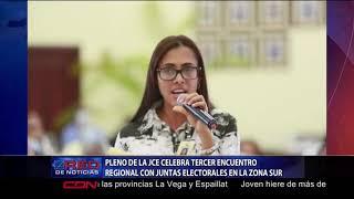 Pleno de la JCE celebra tercer encuentro regional con juntas electorales en la zona Sur