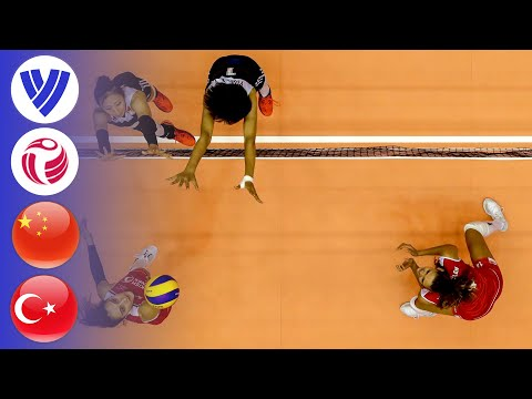 China vs. Turkey - Full Match | Women's Volleyball World Grand Prix 2017
