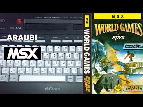 World Games (Epyx, 1987) MSX [482] Walkthrough